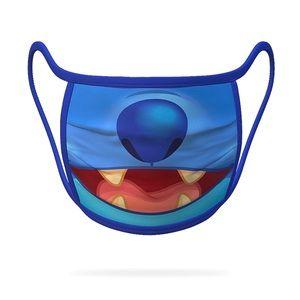 Disney Stitch Face Mask Medium NEW